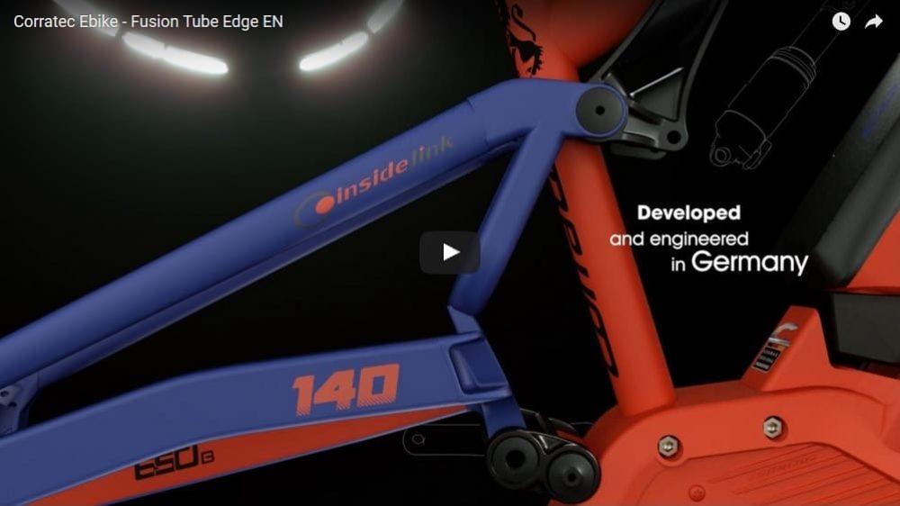 Corratec – E-Bike Rahmen Fusion Tube Edge EN